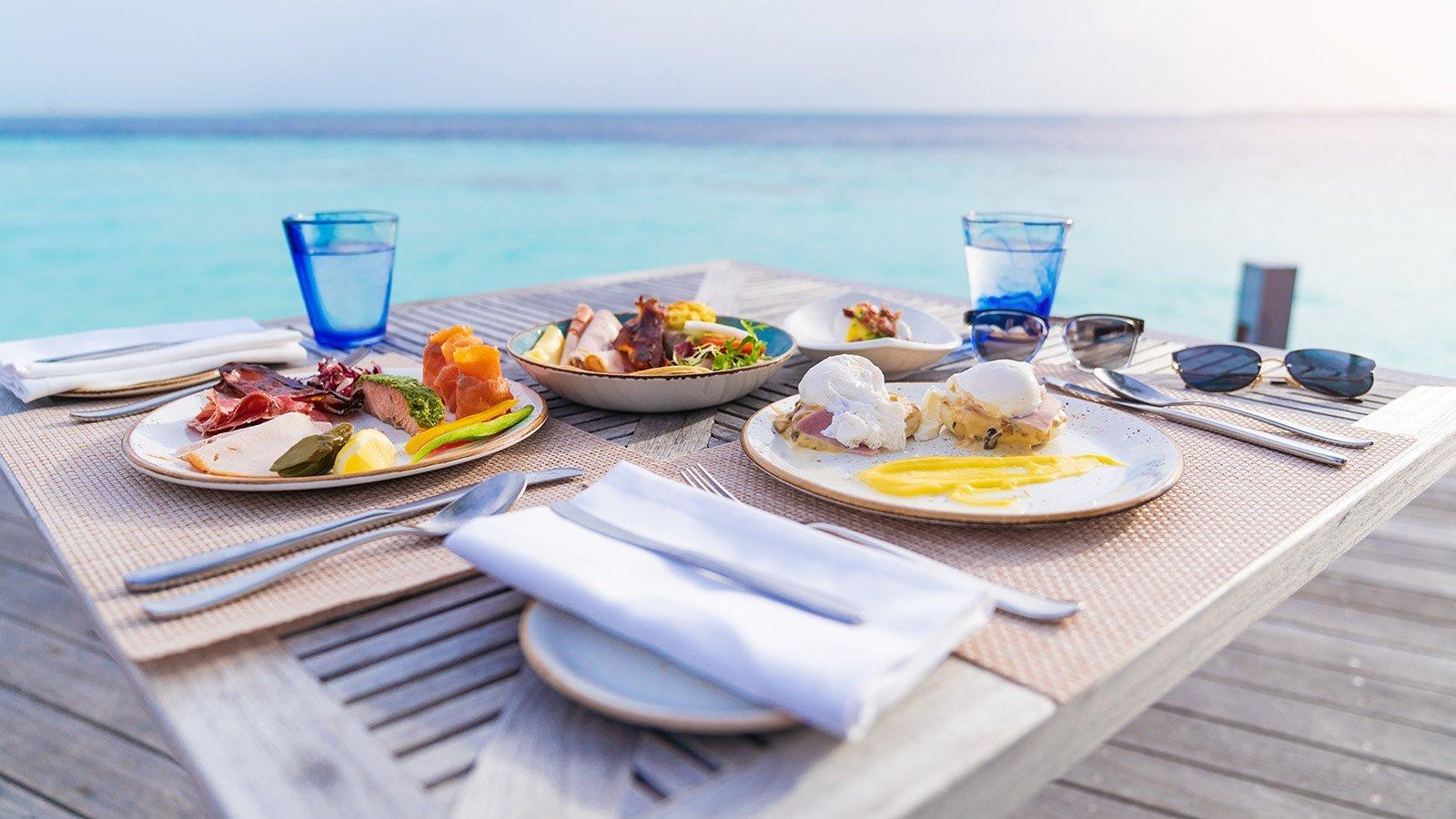 Breakfast Maldives Innahura