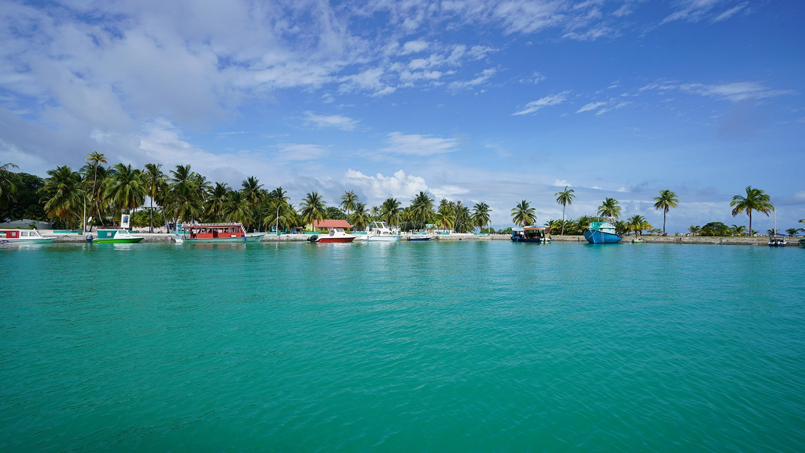 Local Village Maldives