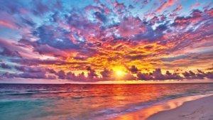 Maldives sunset innahura