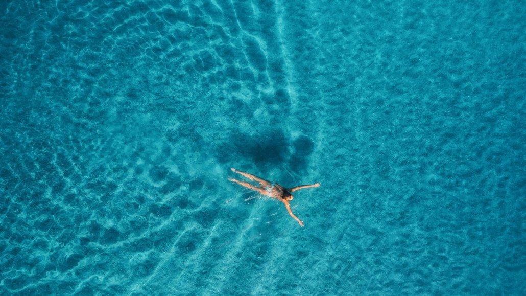 Paradise lagoon Maldives Innahura