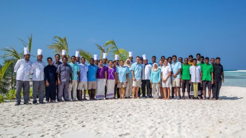 Innahura Maldives Resort team