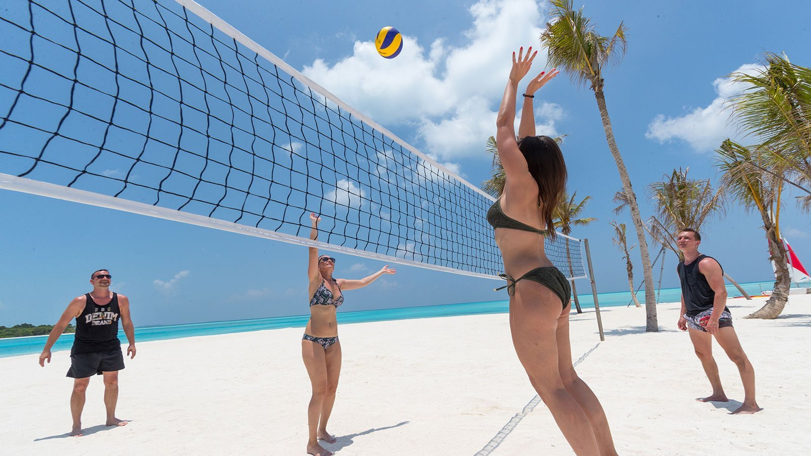 Beach Volley Maldives Innahura Resort
