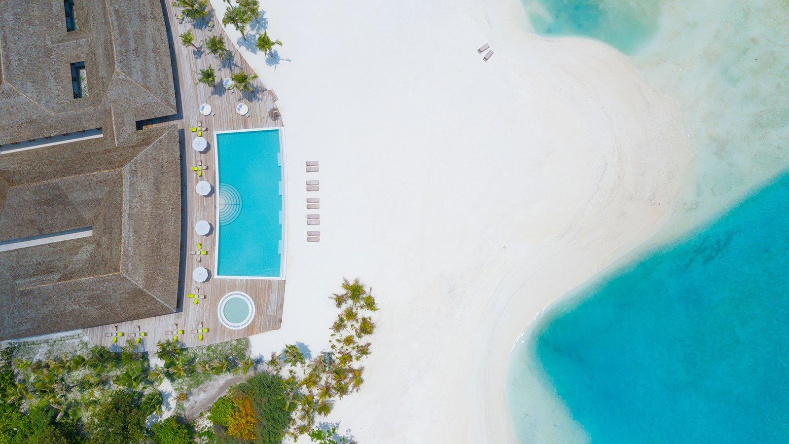 Pool Maldives Innahura Resort
