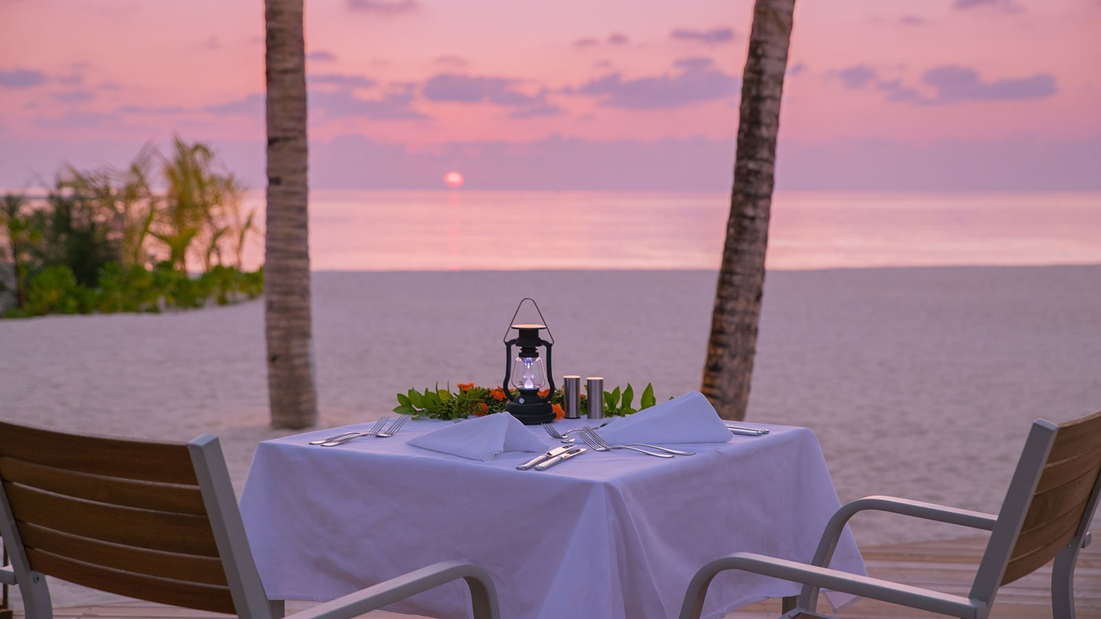 Private Dining at Maldives Innahura Resort