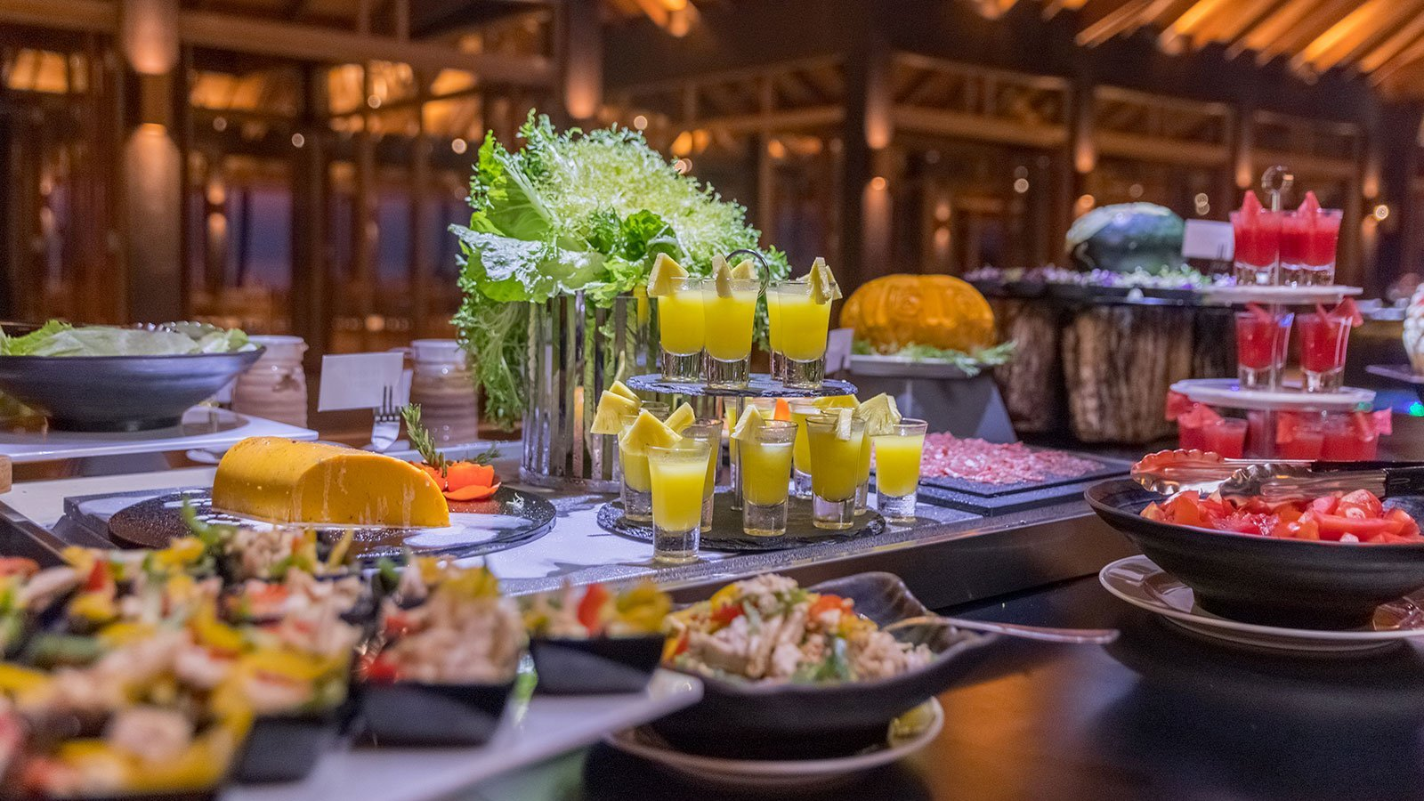 Buffet Meals Innahura Maldives