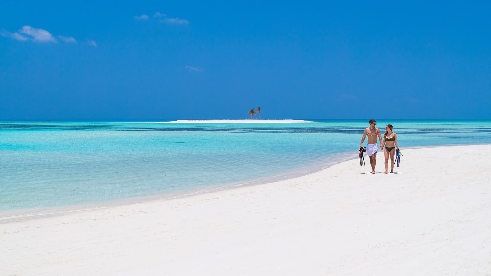 Snorkeling at Maldives Innahura Resort