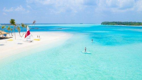 Stand Up Paddleboard Maldives Innahura Resort