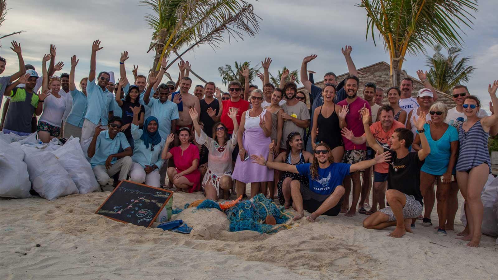 Clean up the world 2019 Innahura Maldives